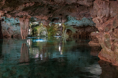 Underground Cenote in the Mayan Rivera, Mexico