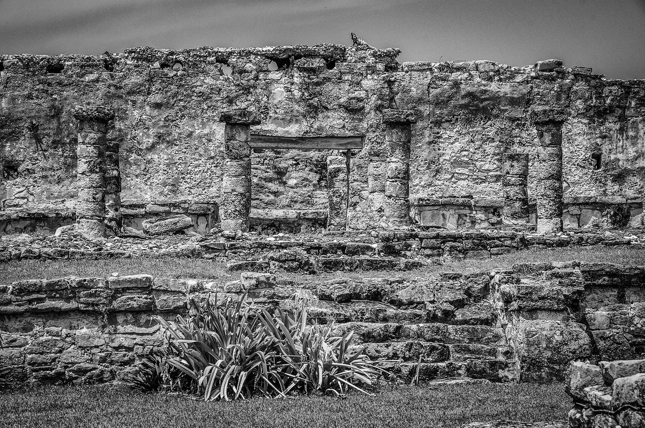 Mayan ruins in the Mayan Riviera, Mexico