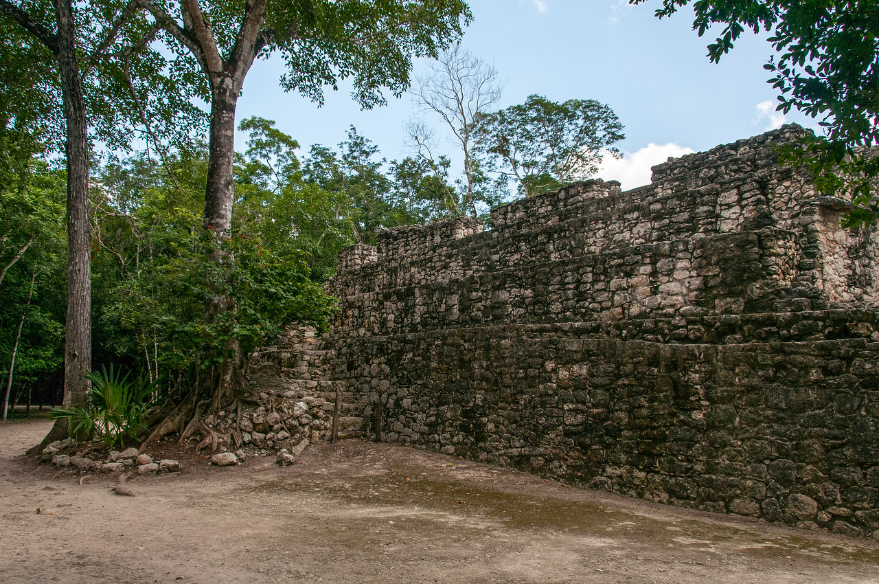 Mayan ruins at the Riviera, Mexico