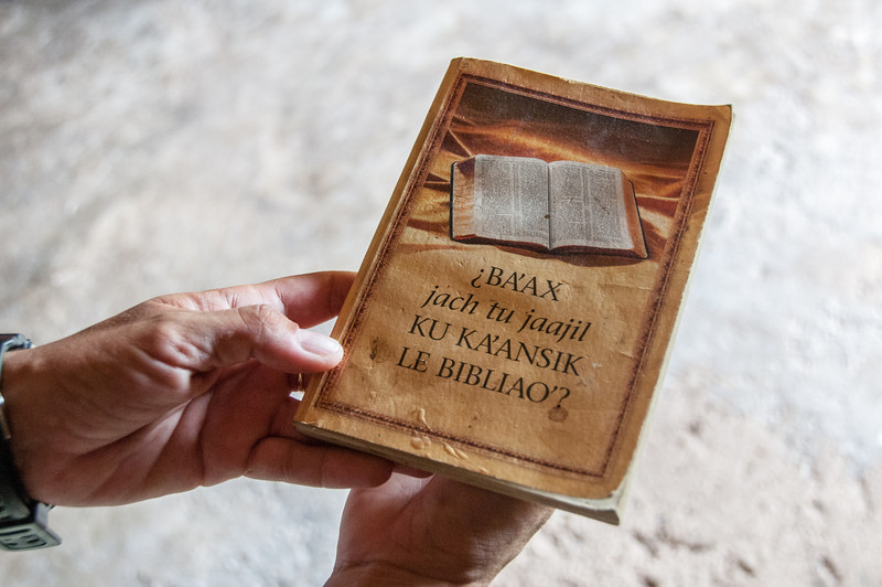 Bible in Mayan Riviera, Mexico