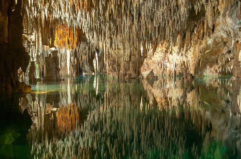 Underground Cenote in the Mayan Rivera, Mexico