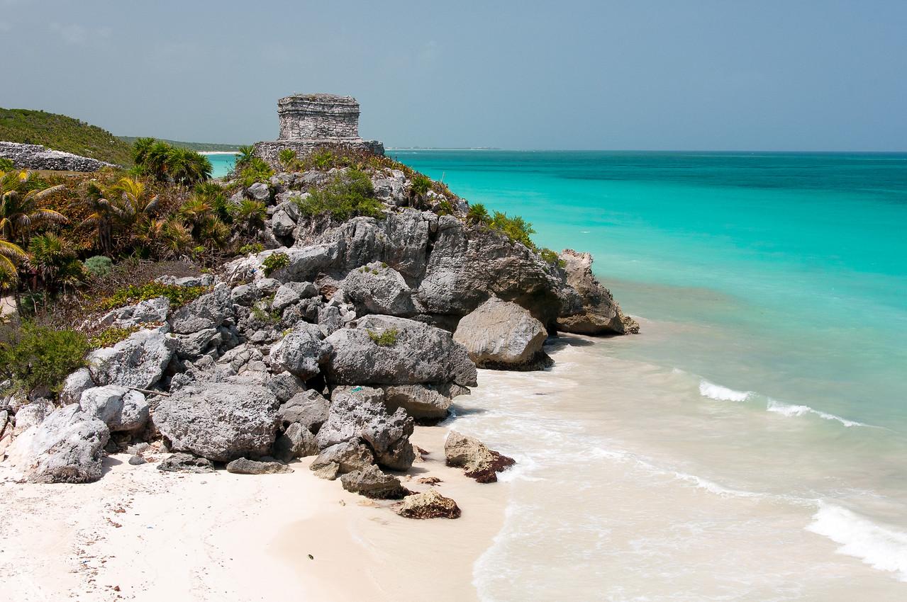 Seascape in Mayan Riviera, Mexico