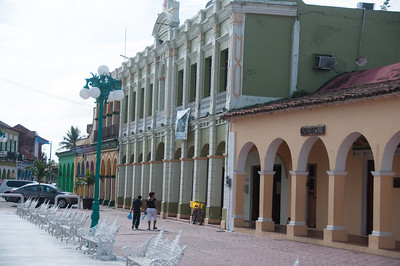 Historic Moments Zone in Tlacotalpan, Mexico