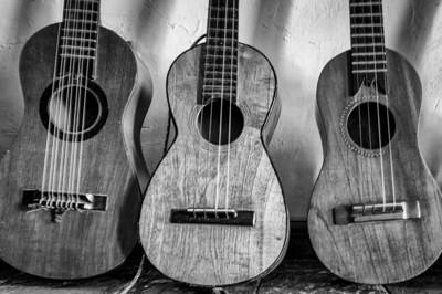 Three guitars in Ttacotalpan, Veracruz, Mexico