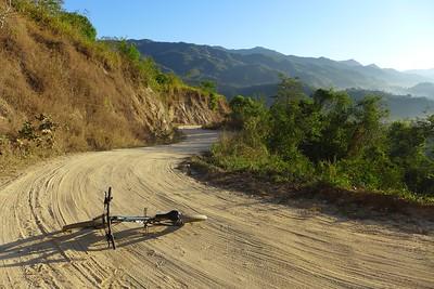 Blick zurück in die Sierra Madre del Sur