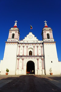 Kirche in Miahuatlán