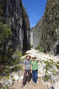 Sierra Mixteca: Schlucht bei Santiago Apoala