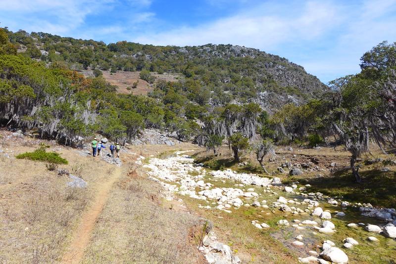 Sierra Mixteca: Trockenes Land
