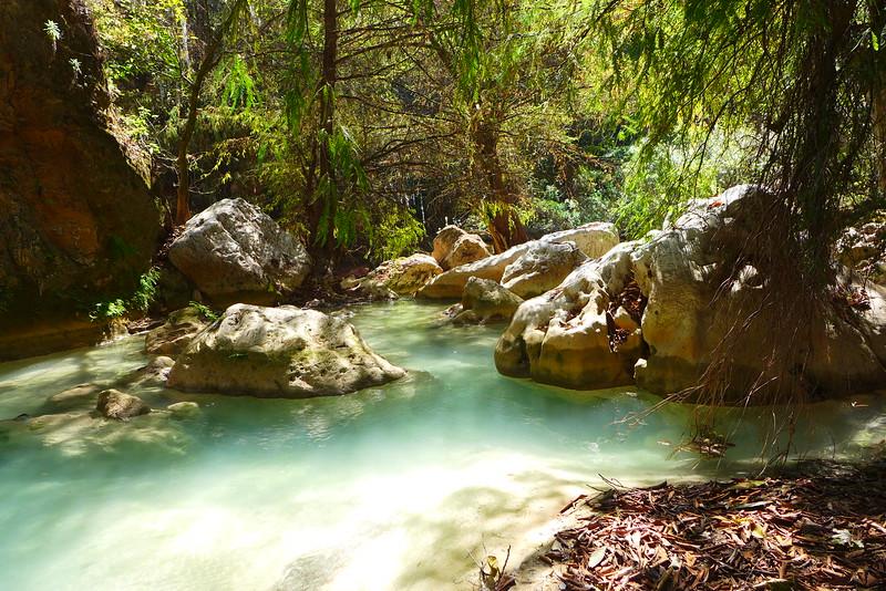 Lagune bei Santiago Apoala