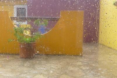 rainy, rainy San Cristóbal