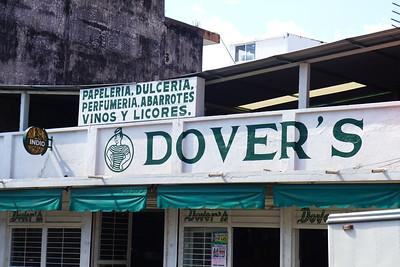 """Auch in Tapachula hat es ein Dober-Laden (oder Dover """"v"""" = """"b"""" in Spanisch)"""