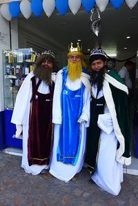 Die drei Könige von Telmex