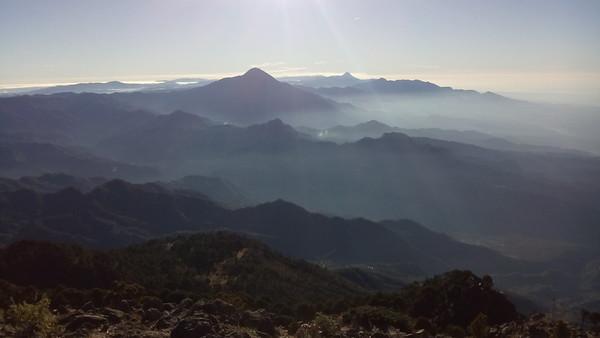 Richtung Guatemala