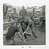 JM101: Jerome 'Buddy' Meyer practices on the 81mm mortar in basecamp