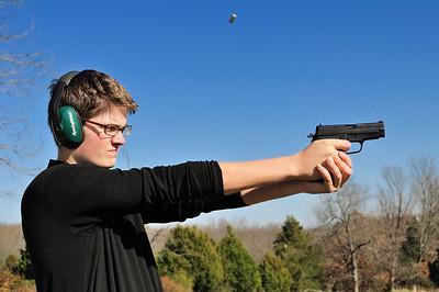 Jeffrey Shooting a Sig P228 again.
