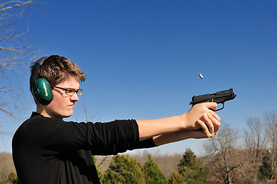 Jeffrey Shooting a Sig P228 yet again.