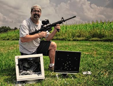 Redneck Hunting!