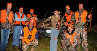 Deer Hunting 2006.  From left to right.  Clay Phillips, Alan Wamsley, Tim LeCroy (standing), me (kneeling), Caleb Keane, John Keane (standing), Brian Carter (kneeling), and Monte Sheilds.