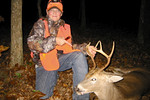 Jeffrey's first deer.  Last day of youth season 2005.  6-point buck.