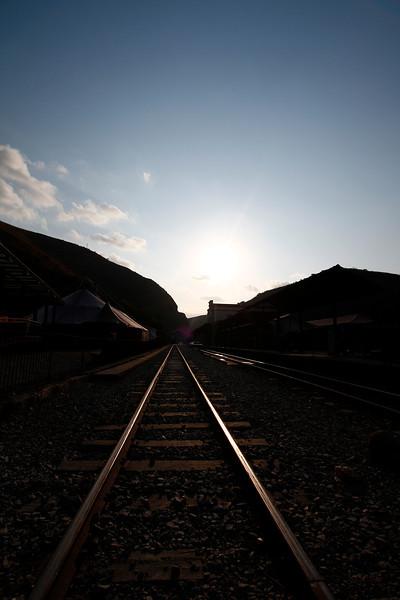 O trem que chega é o mesmo trem da partida...