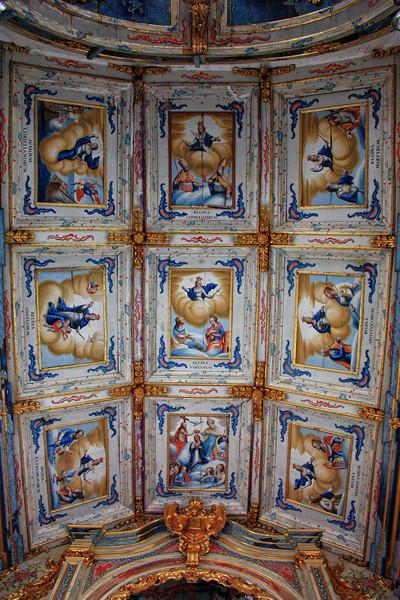 Teto do Altar Mor da Igreja de N. S. das Mercês (1793)