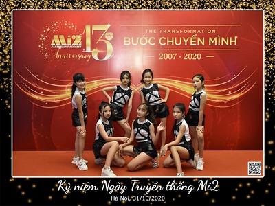 Mi2 | 13th Anniversary instant print photo booth in Hanoi | Chụp hình in ảnh lấy liền Sự kiện Ngày truyền thống tại Hà Nội | Hanoi Photobooth