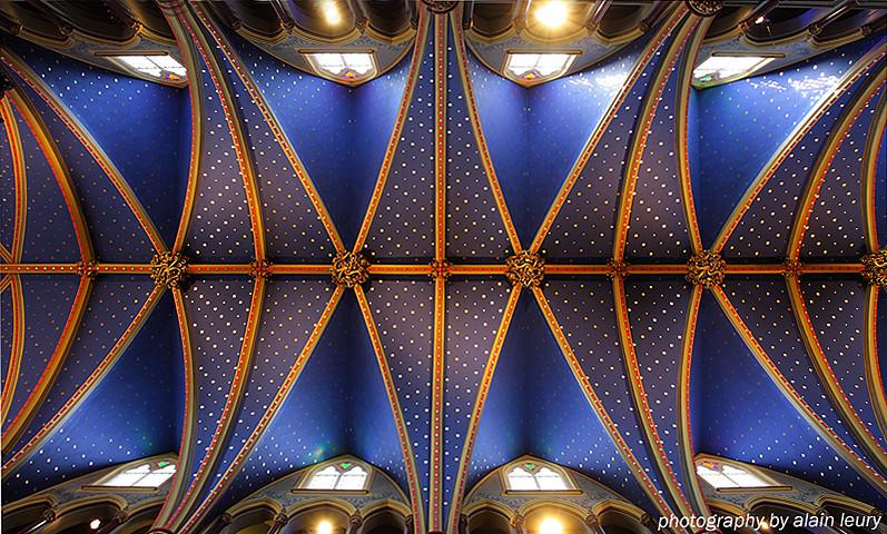 Plafond de la Basilique-Cathédrale Notre-Dame d'Ottawa Ontario