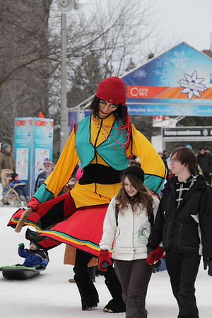 February 6 / Hey... I'm friendly - Parc Jacques Cartier Bal de neige