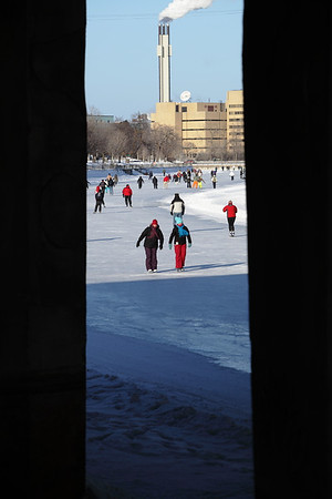 January 23 / Skating on the canal