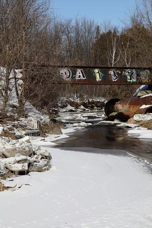 February 23 / Walk Over Green's Creek