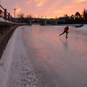 February 5 / Early Skater