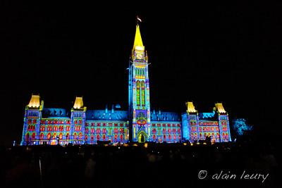 July 15 / Parliament light show