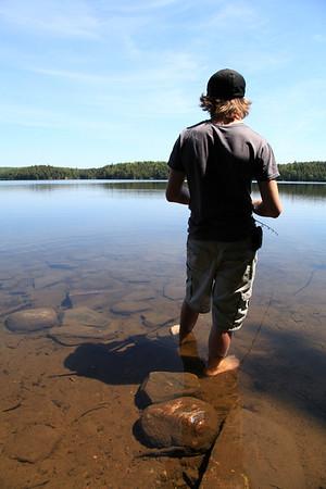 5-20 / Let's fish  Head Lake Algonquin Park 2010