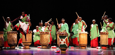6-4 / Burundi Drummers - 2010 Pre-African Festival Show