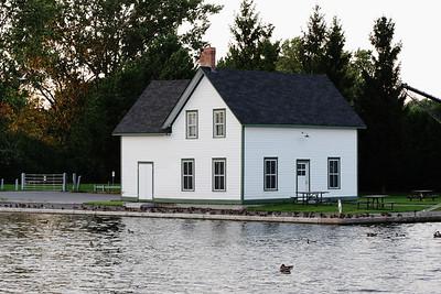 8-28 / Lock's House on Rideau canal near Experimental farm