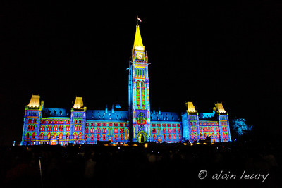 July 15 / Parliament light show