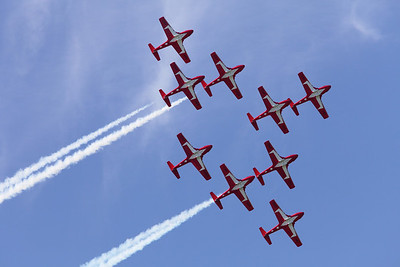 7-3 / Snowbirds in Gatineau - Amazing show!
