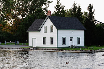 8-28 / Lock's House on Rideau canal near Experimental farm