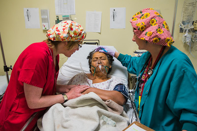 After surgery patients recover in the post-op room. Photographed on assignment for Portland Magazine.