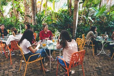 Peacock Garden Café - Coconut Grove, outdoor seating