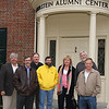 Reunion Committee for Class of 1971: Ingemar Svala, Vermilion, Ed Seidel, Columbus, Fred Spohr, Class Agent, Arlington Heights, IL,  Gary Sidell, McLean VA, Jane Smalley Boyer, Westerville, Terry Bissett, Dayton and Richard Vining, Oxford.   Missing from photo is: Greg Dixon, Mark Dues, Dayton, Steven Hays, Deloris Rome Hudson, Jackie Harris Monter and Marciie Anderson Seidel, Columbus.