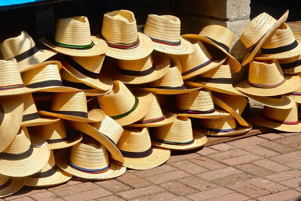 Hats For Sale, Guatemala