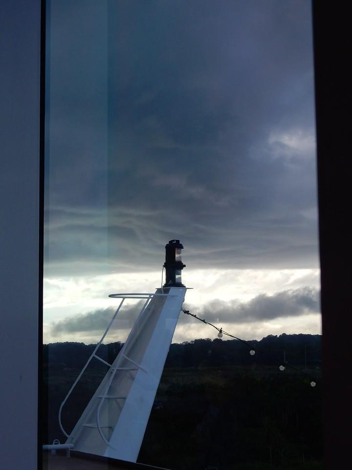 Heavy Weather, Panama Canal