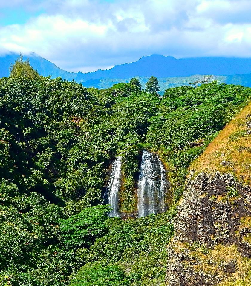 Wailua Waterfall, Kauai, Hawaii