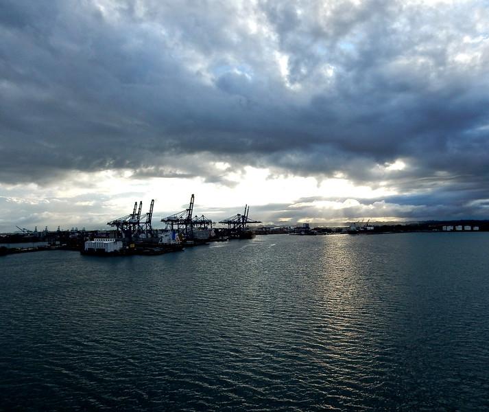 Foul Weather, Panama Canal