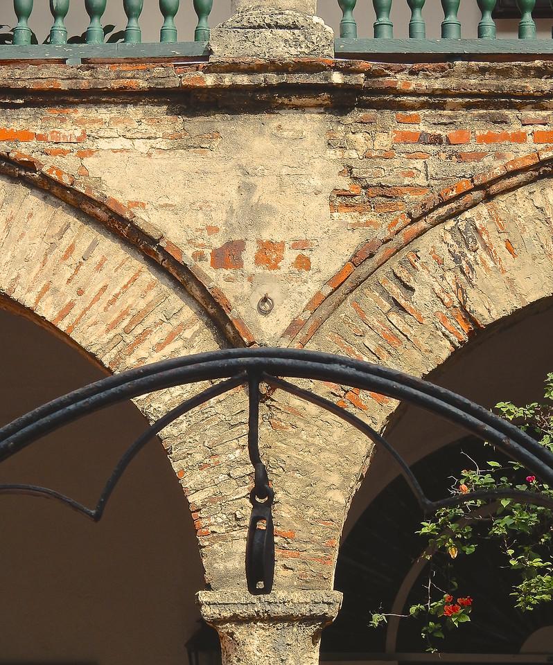 Archways, La Popa Monastery, Cartagena