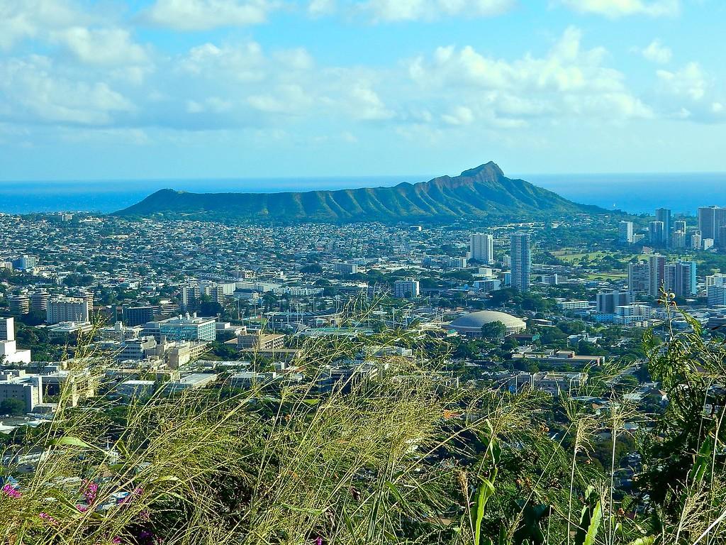 Diamond Head, Honolulu, Hawaii