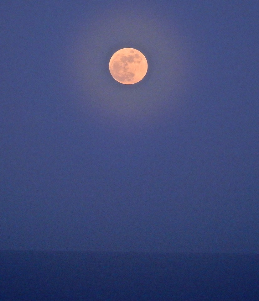 Beautiful Caribbean Moon