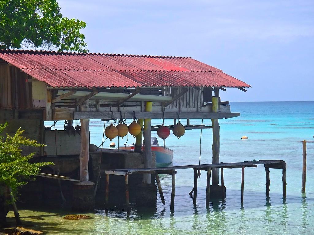 Boat Shed, Fakarava Atoll, French Polynesia