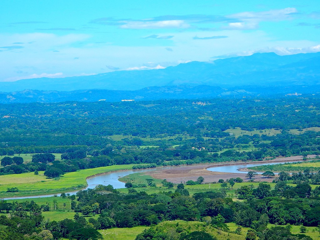 View from the Rain Forest, Costa Rica